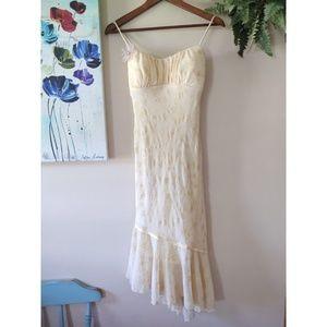 Ruby Rox Pale Yellow Prom Dress Sz 5